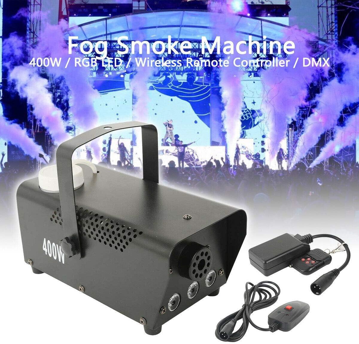 Tengchang Direct sale of manufacturer Professional 400W Fog Smoke 3X3W Machine safety RGB LED l