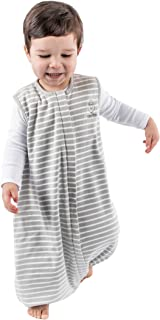 4 Season Baby Sleeping Sack with feet, Australian Merino Wool Wearable Blanket, 6 Months - 3-4T