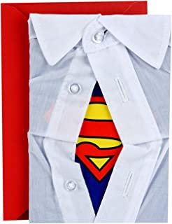 Hallmark Signature Father's Day Card for Dad (Superman)