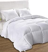 Utopia Bedding Légère Couette - Couette en Microfibre - Hypoallergénique - (Blanc 200 x 200 cm)