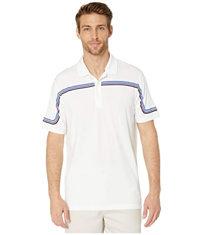 PUMA Golf Looping Polo (Bright White) Men