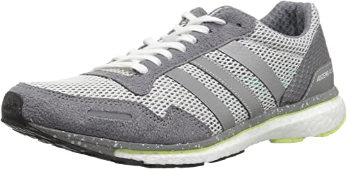Adidas Wohommes Adizero Adios w, one Metallic argent gris Three, 8 M US
