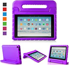 LTROP All-New Fire HD 10 Case - Shock Proof Fire HD 10 Tablet Case for Kids (7th Generation and 9th Generation, 2017 and 2...