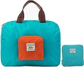 shree krishna Men's and Women's Nylon Foldable Waterproof Lightweight Travel Duffle Luggage Bag for Sports and Gym (Random Colour)