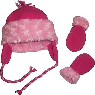مجموعة إكسسوارات قفازات الشتاء من N'Ice Caps للفتيات الصغار والطفل من Velboa