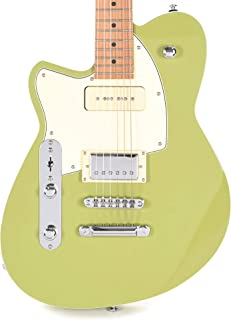 Reverend Double Agent OG Avocado Green LE LEFTY w/Roasted Maple Neck (CME Exclusive)