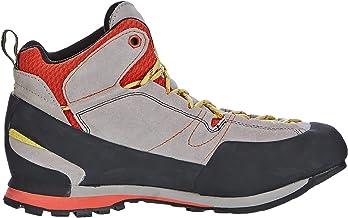 La Sportiva Boulder X Mid Grey/Red, Zapatillas de Senderismo Unisex Adulto