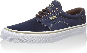 Vans Rowley Solos Dress Blues/Brown Men's Classic Skate Shoes Size 7.5