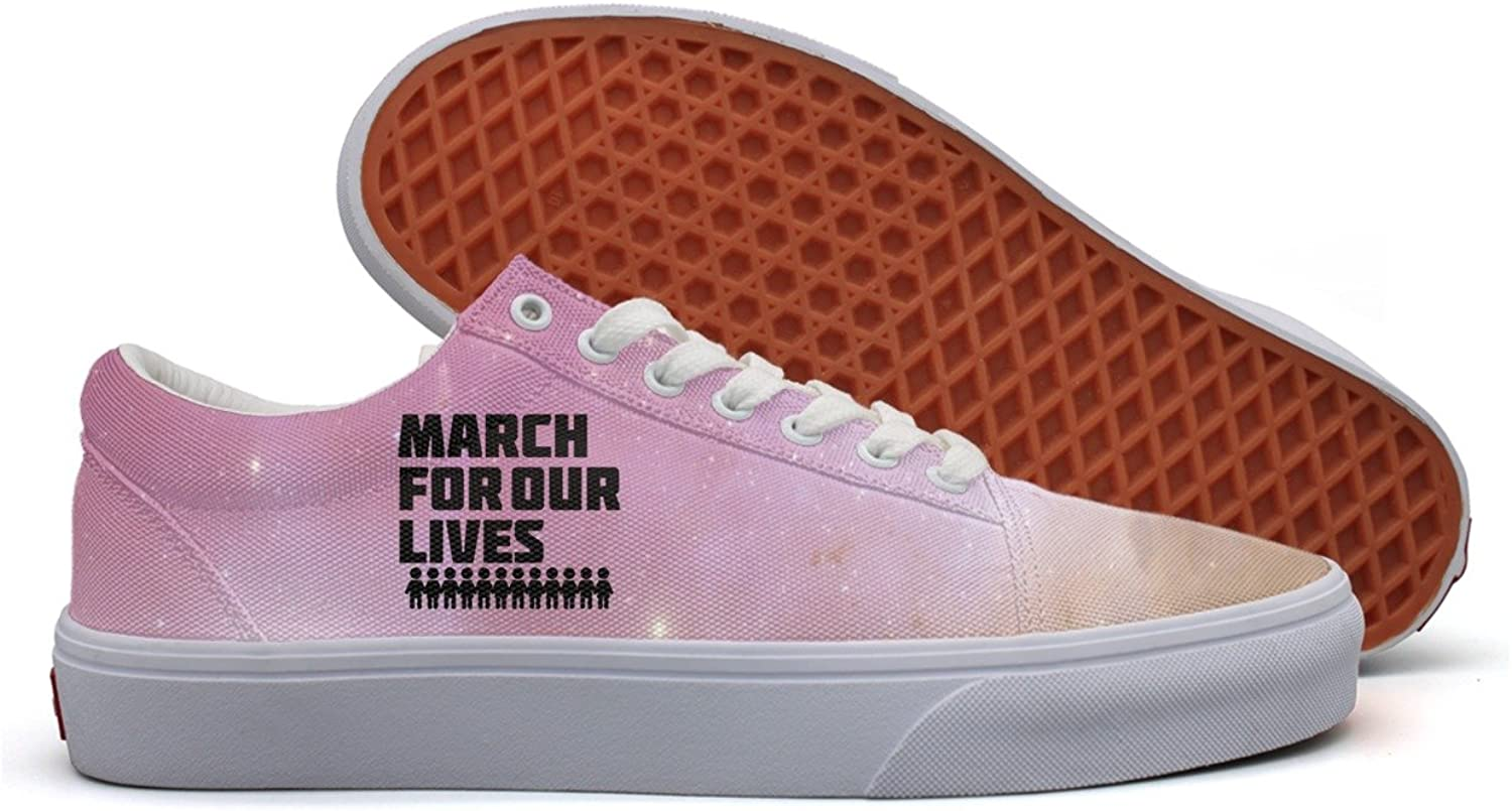 March for our lives accessories Gun Control Womens Utility Sneakers