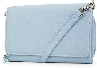 RFID Crossbody Bag For Women Anti Theft Travel Purse Handbag Wallet Vegan Leather