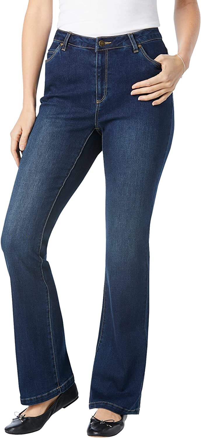Woman Within Women's Plus Size Tall Perfect Bootcut Jean