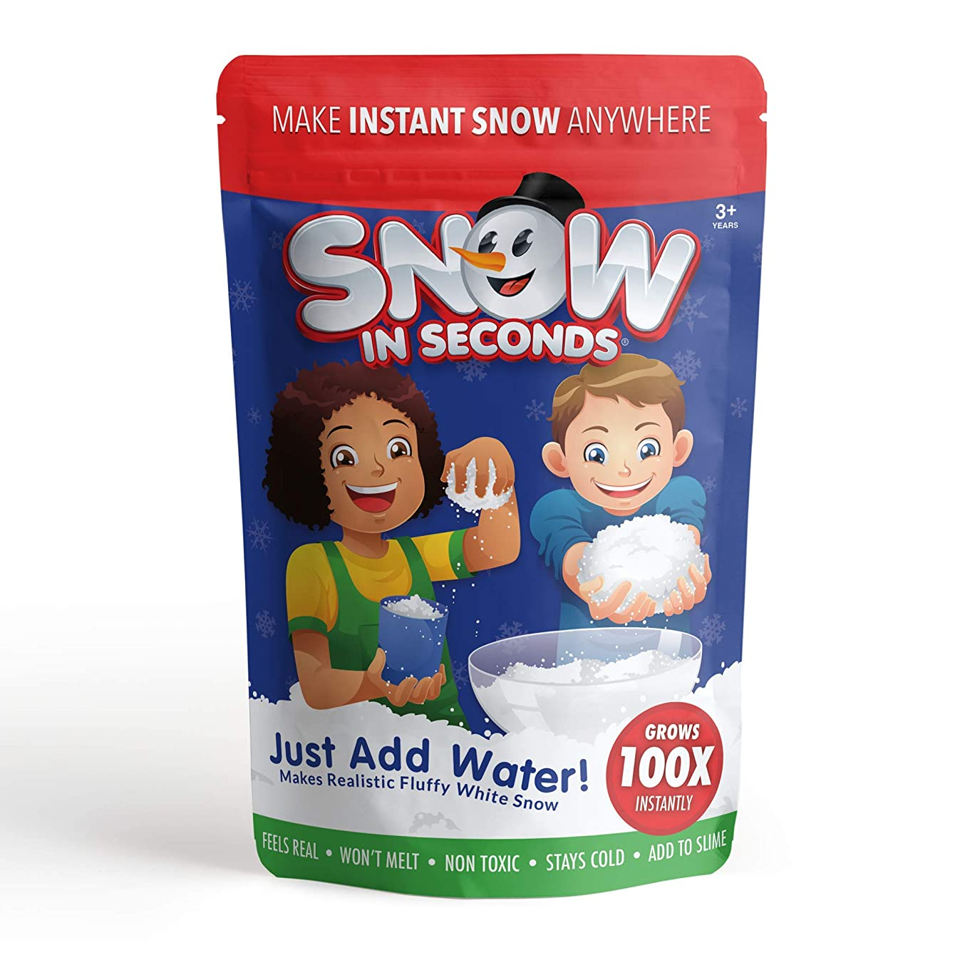 Snow in Seconds (Makes 2 Gallons Instant Fake Snow
