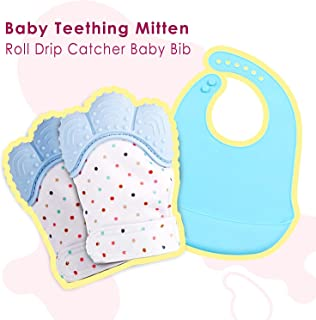 waterproof teething mittens