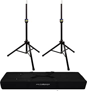 GFW-SPK-3000SET Gator Frameworks Deluxe Set with Self Rising Lift Assist Includes Renewed Speaker Stands and Nylon Carry Bag 2