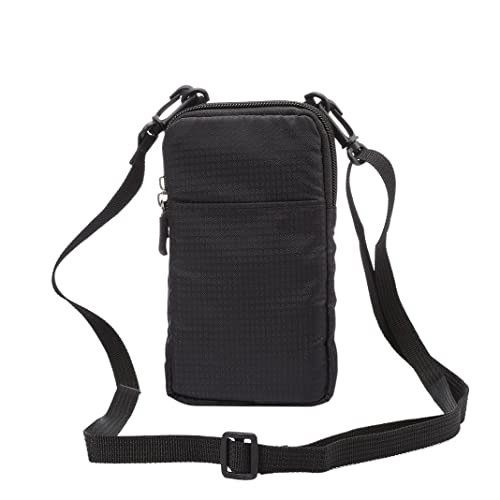 ad617187188 Pouch Waist Bag, Shoulder Messenger Bag, Practical Ladies Men Double Layer  Zipper Cross Body