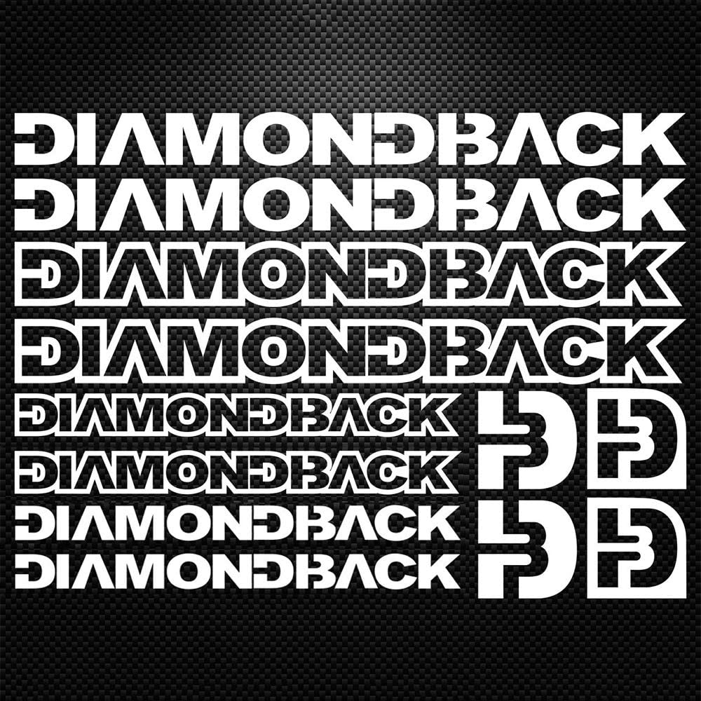 DIAMONDBACK BICYCLE STICKERS set of 3 NEW