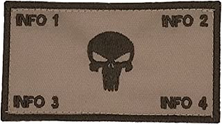 TacticalStitches.com Flak Identification Patch/Tag The Punisher (V2)