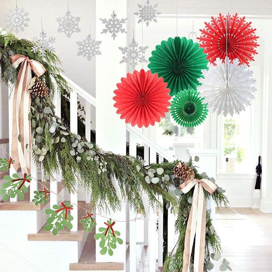 Yekitza Christmas Decoration Kit Home Party Set Decorative Tissue Paper