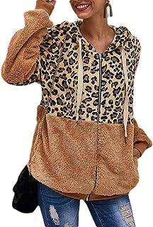 ouxiuli Plus Size Sherpa Pullover Womens Sweatshirt Half Zip Fuzzy Fleece Jacket Winter Coat Outwear