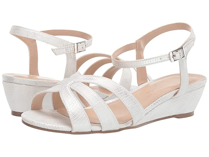 Vintage Sandals | Wedges, Espadrilles – 30s, 40s, 50s, 60s, 70s Paradox London Pink Jackie White Womens Shoes $38.97 AT vintagedancer.com