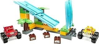 Blaze and the Monster Machines Mega Bloks Jungle Ramp Rush Building Set