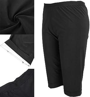 Workout Pants, Yoga Leggings Black Sauna Tights Slim Quick Drying Elastic Waist for Indoor Outdoor Sports