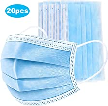 Facial Tissue Disposable Face Cover 3-Ply Mouth Cover,Paper Towels(20PCS)