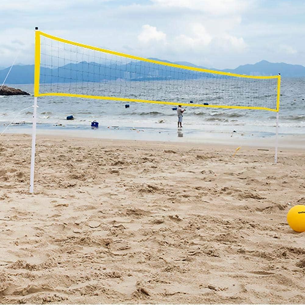 Badminton Net Outdoor Portable Long-awaited sale Volleyball Adjustable Folda