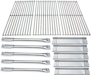 Direct Store Parts Kit DG183 Replacement Jenn-Air 720-0709B, 720-0727 Gas Grill Stainless Steel Burners,Heat Plates,Cooking Grid