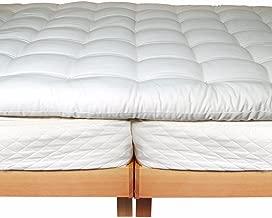 Holy Lamb Organics Wool Mattress Toppers (California King Deep Sleep Topper)