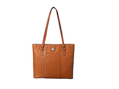 Dooney & Bourke Lexington Shopper (Caramel) Tote Handbags