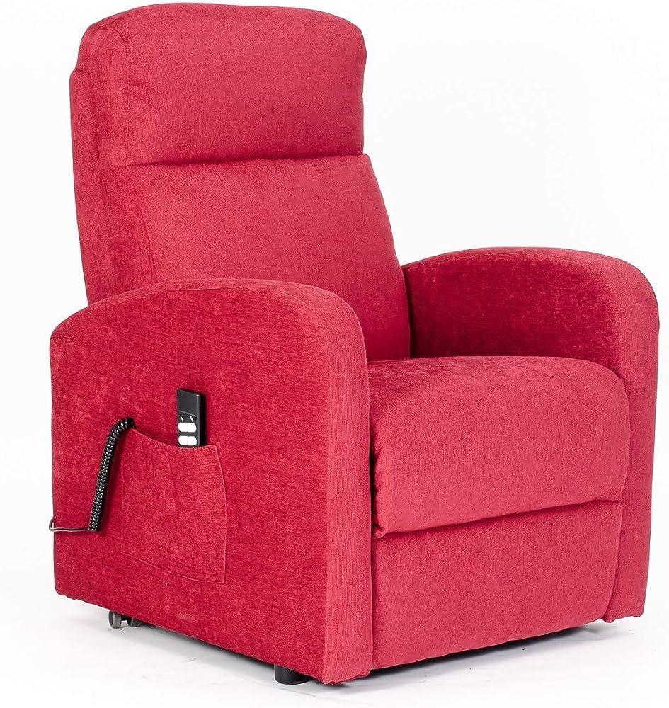 Poltrone italia, poltrona elevabile elettrica 2mot reclinazioni indip. Poltrona-Chanel-2M-TARED