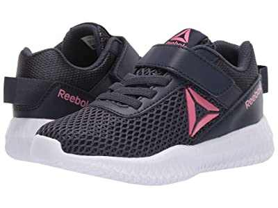 Reebok Kids Flexagon Energy Alt (Little Kid/Big Kid) (Navy/Pnk/White) Girls Shoes
