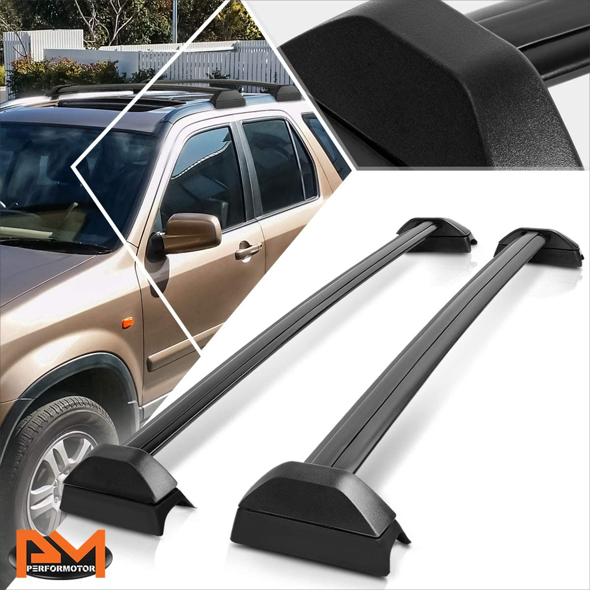 Fashion Compatible with Honda CR-V 02-06 OE Roof Style Rail Aluminum Super-cheap Top