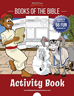 Books of the Bible Activity Book