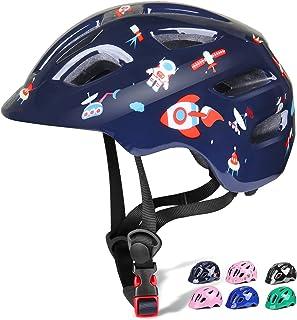 ヘルメット こども用 自転車 ヘルメット 幼児 児童用 1歳半-8歳向け キックボート サイクリング バイク 保護用ヘルメット 超軽量 サイズ調整可能