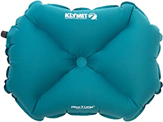Klymit Pillow LARGE Inflatable Camping & Travel Pillow, Teal
