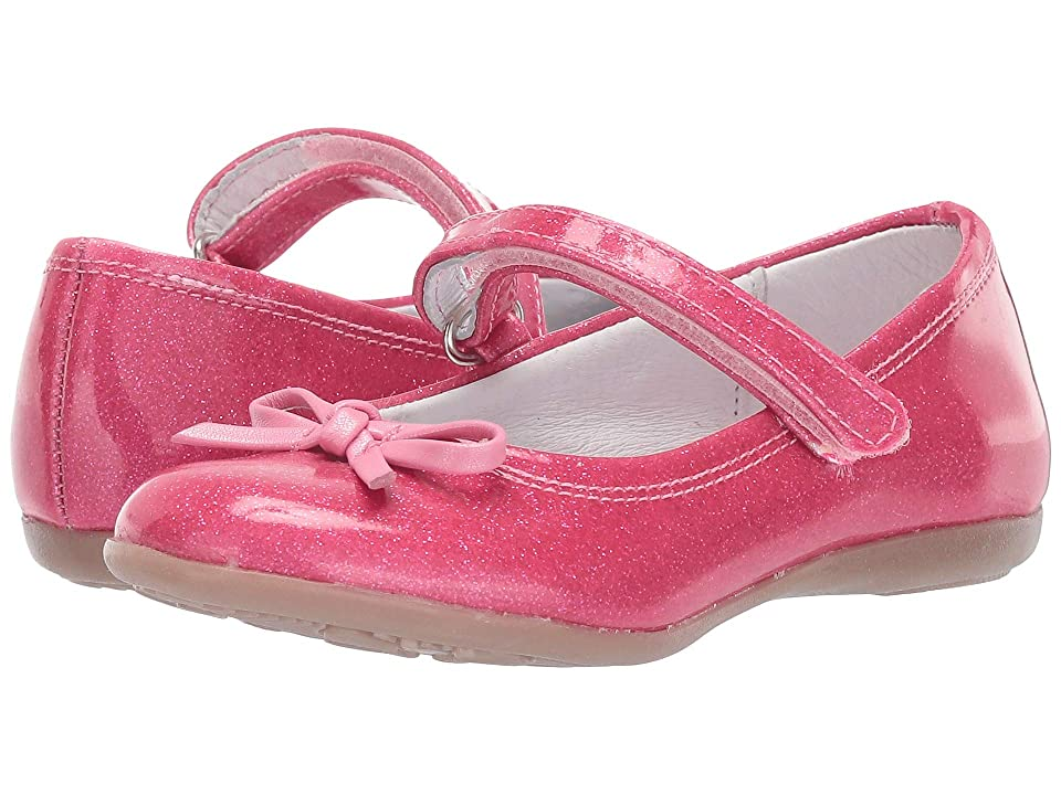 Kid Express Rosie (Toddler/Little Kid/Big Kid) (Pink Glitter Patent) Girls Shoes