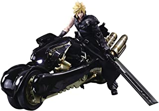 Square Enix Final Fantasy VII: Advent Children: Cloud Strife & Fenrir Play Arts Kai Action Figure