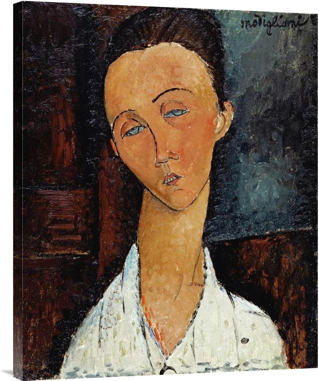 Global Galerie Budget gcs-265174–76,2–360,7 cm Amedeo Modigliani Lunia Czechowska Galerie Wrap Giclée-Kunstdruck auf Leinwand Art Wand B01K1PKW6U | Primäre Qualität