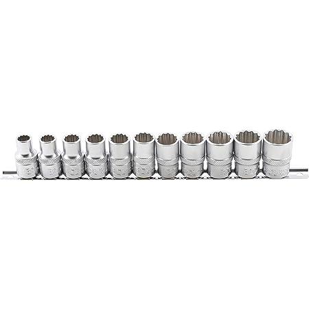 """Antrieb Innenvierkant 12,5 mm - SW 10 1//2/"""" Steckschlüssel-Einsatz Zwölfkant"""