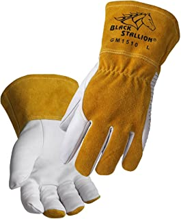 Revco BSX Black Stallion Comfortable & High-Dexterity MIG / TIG Welding Glove (Large)