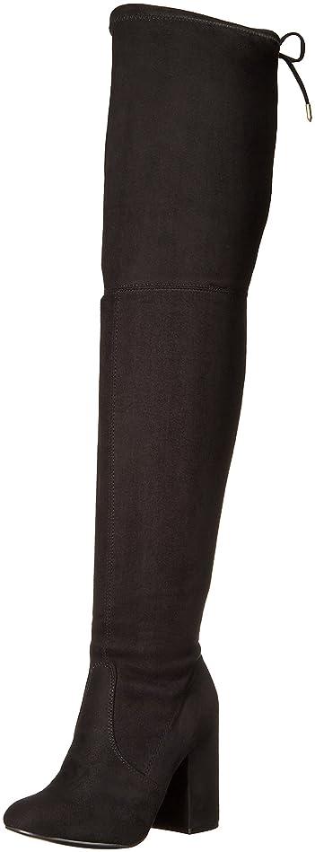 バケット信仰静かにSteve Madden Womens norri Almond Toe Suede Fashion Boots