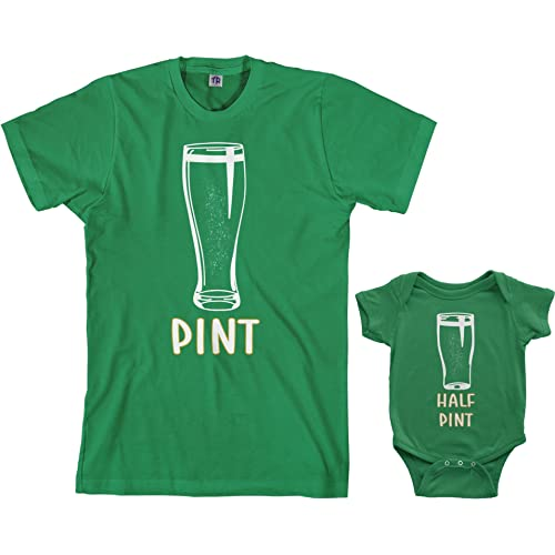 c1153b30f Threadrock Pint & Half Pint Infant Bodysuit & Men's T-Shirt Matching Set
