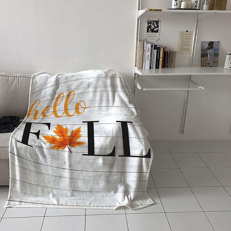 COLORSUM Fleece Throw Blanket 5% OFF Soft Weekly update Lightweight Fall Thanks Hello
