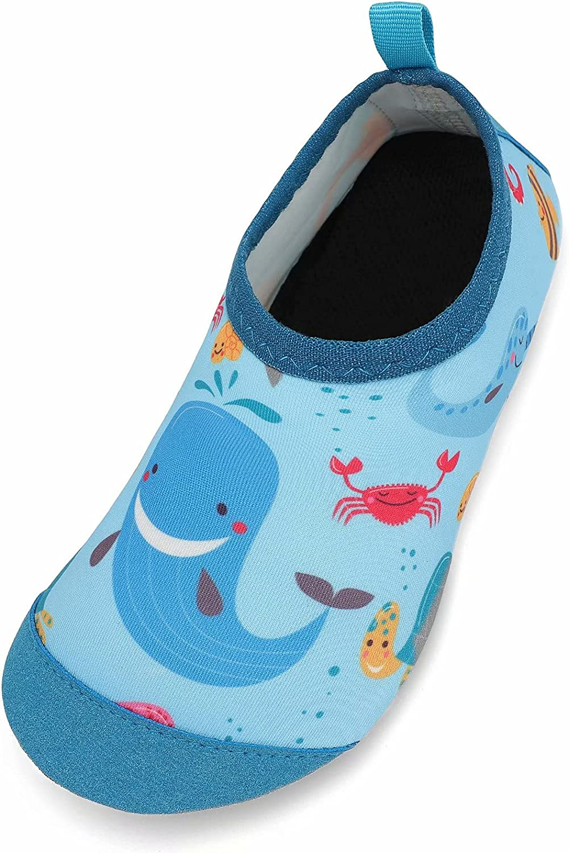 GEWEO Escarpines Agua Niño Niña Infantiles Verano Zapatos de Agua Chico Chica Descalzos Piscina Nadar Natación Neopreno Antideslizante Bebé Buceo Surf Windsurf Suela Blanda Ligero