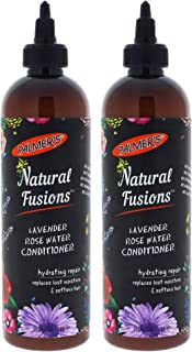 Palmers Natural Fusions Lavender Rose Water Conditioner - Pack of 2-12 oz Conditioner