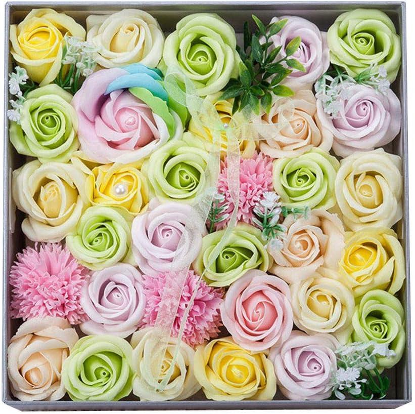 store Winnerlink Bath Soap Flowers Gift Blue Arti Box Handmade Luxury Max 66% OFF