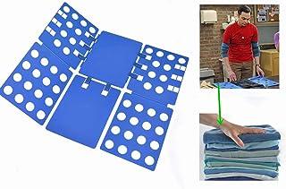Nifogo Aide au Pliage du T-Shirt, Pliage des vêtements, Flexible, stylé, Chemise pour Pantalon pour Enfant et Adulte, 70 x...