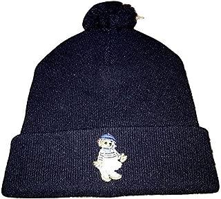 Womens Bear Lambswool Pom Pom Winter Cap Hat